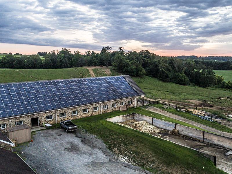 Roseda Farm Solar Panels